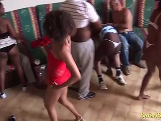 extraordinary wild african sex party