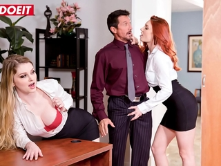 LETSDOEIT - Shows Us What You Got Boss! Nonentity Will Know (Bunny Colby & Lacy Lennon)