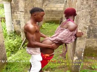 Black ghana teennporn videos